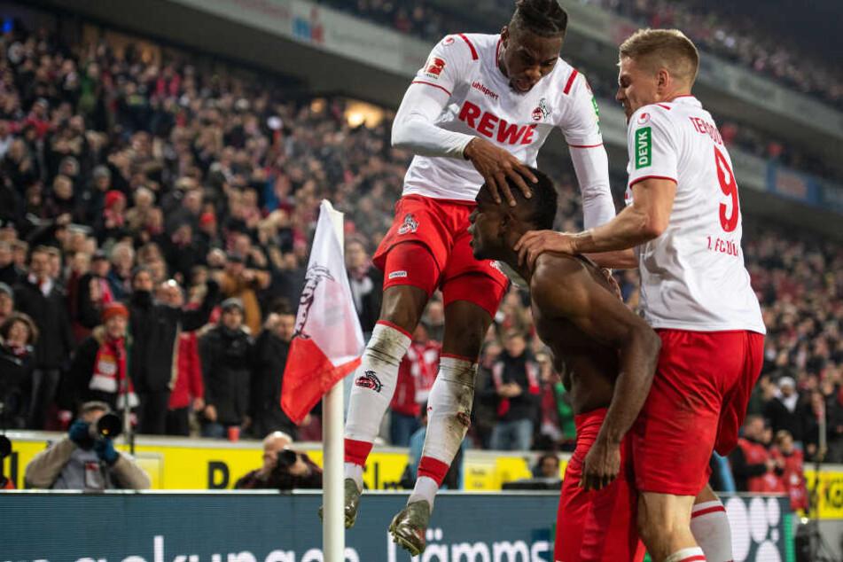 Seltener Jubel: Die Kölner Stürmer erzielten in dieser Saison zusammen erst sechs Tore.