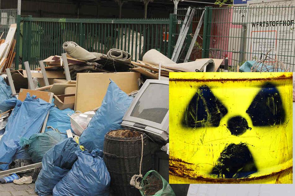 """Der Grenzwert sei bei dem """"radioaktiven"""" Fund geringfügig überschritten gewesen."""