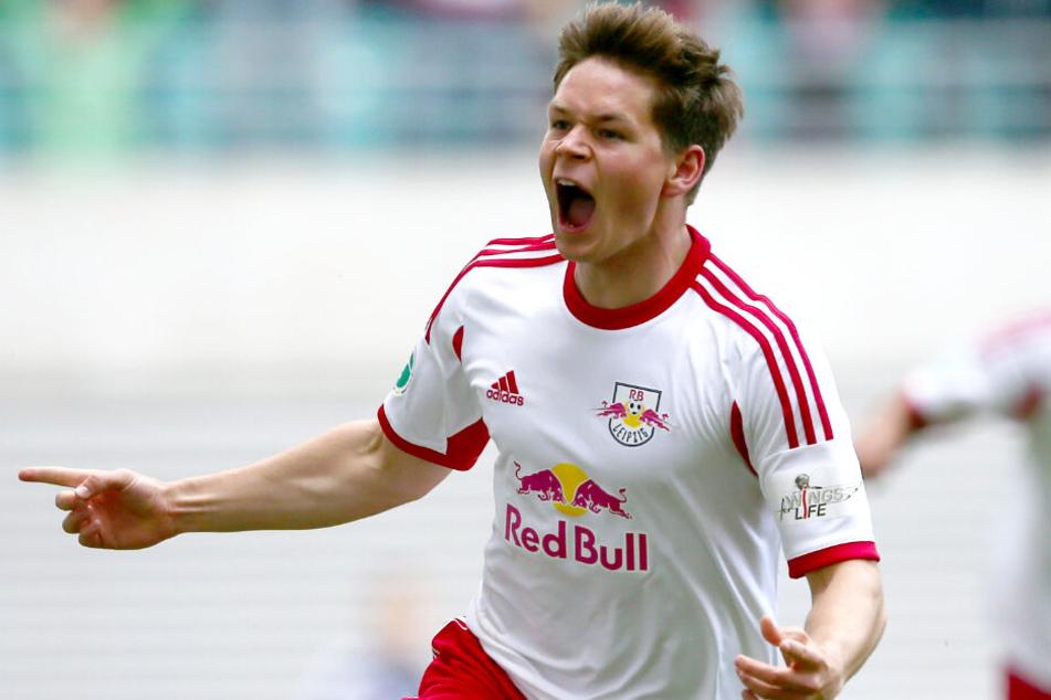 Dominik Kaiser stieg mit RB Leipzig dreimal auf, ging den ganzen Weg von der Regionalliga Nordost bis in die 1. Bundesliga mit.