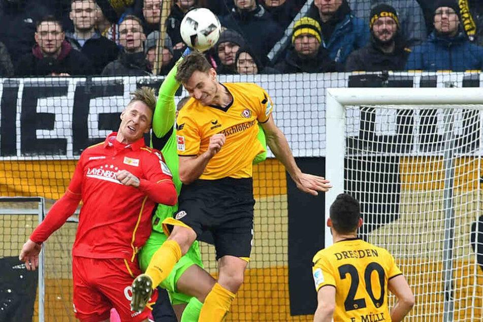 Kein Durchkommen auf beiden Seiten: Das Spiel gegen Union Berlin endete torlos.