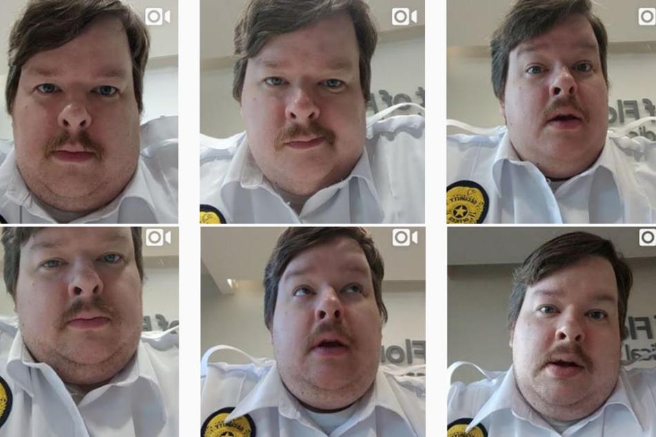 So sieht sein Instagram-Profil aus: Viele, kurze Furz-Videos.