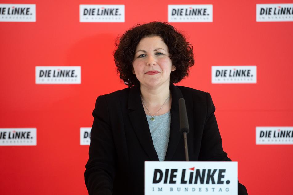 Die Fraktionsvorsitzende der Linken Amira Mohamed Ali (41).