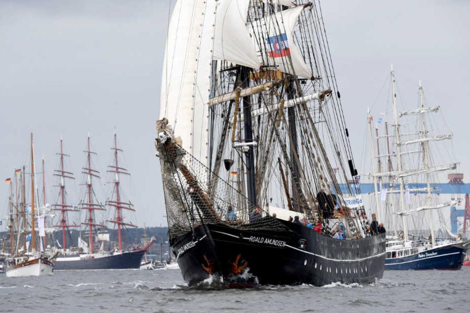 Segler knacken Rekord auf Kieler Woche