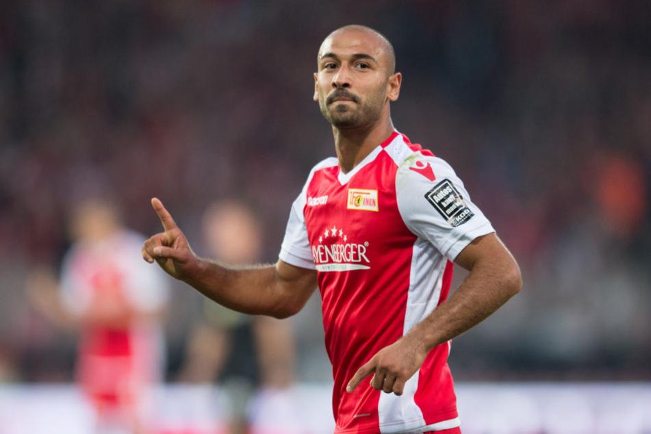 Berlins Stürmer Akaki Gogia freut sich auf das Ostduell gegen Dynamo Dresden.