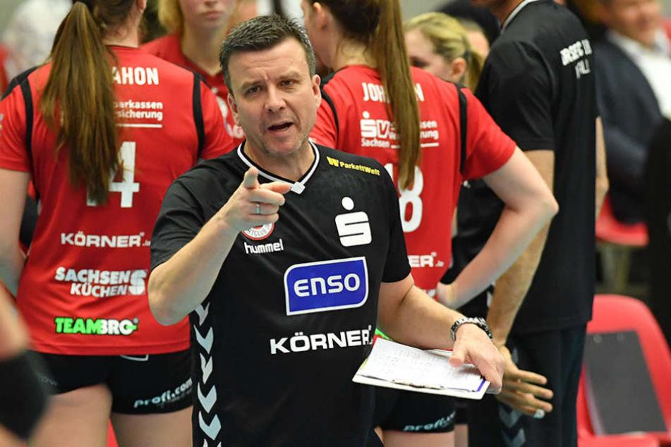 """DSC-Coach Alex Waibl warnt: """"Suhl ist nie leicht."""""""