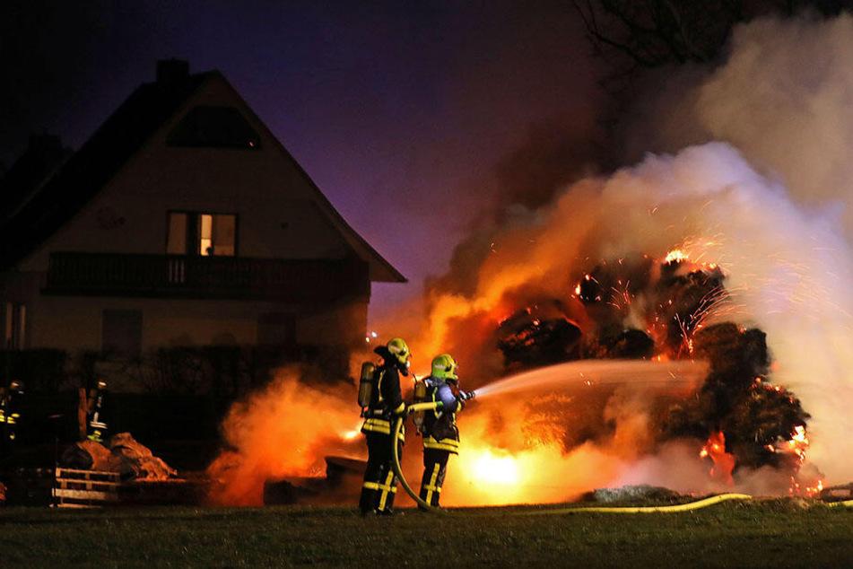 Brandstiftung? 10.000 Euro Schaden bei Brand in Lichtenstein