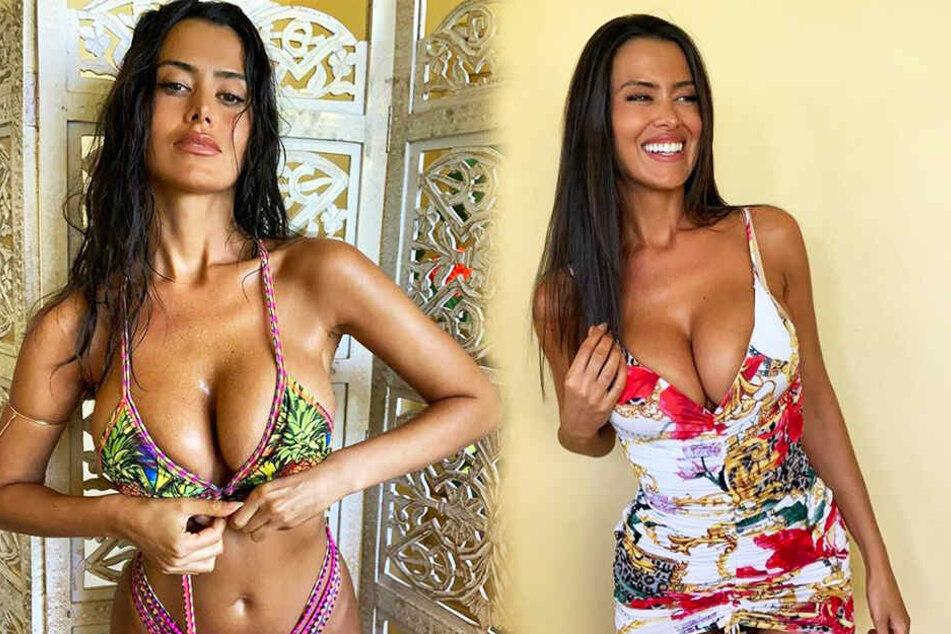 Eva Padlock verzückt ihre Follower regelmäßig mit sexy Fotos.