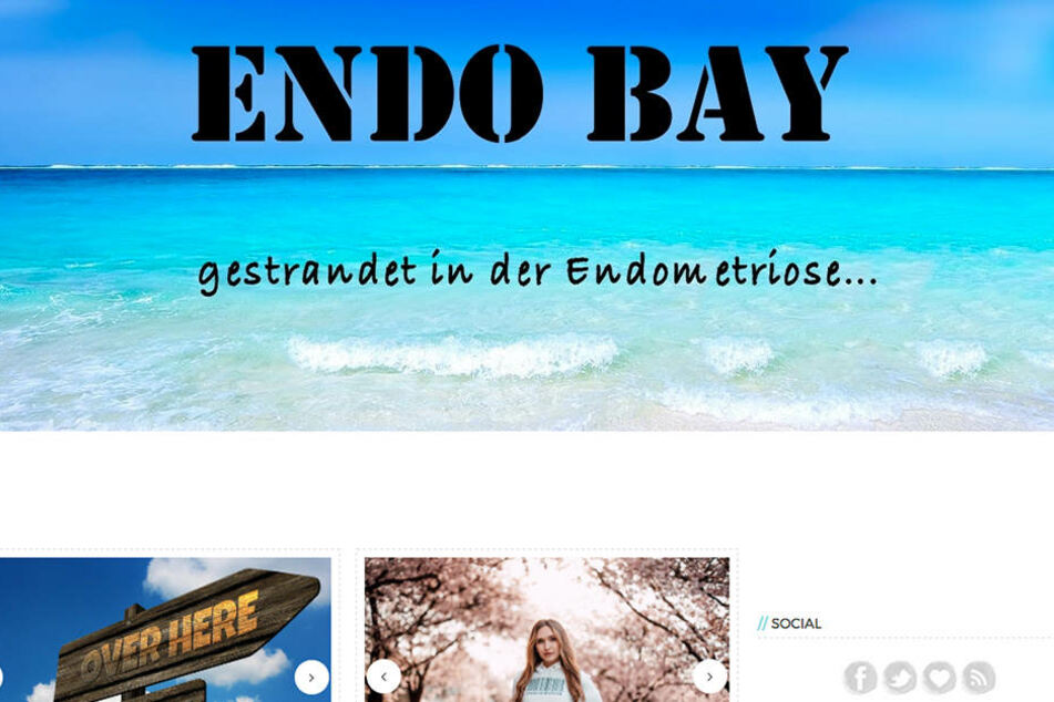 """Mit dem Blog """"Endo Bay"""" sollen Frauen über Endometriose aufgeklärt werden."""
