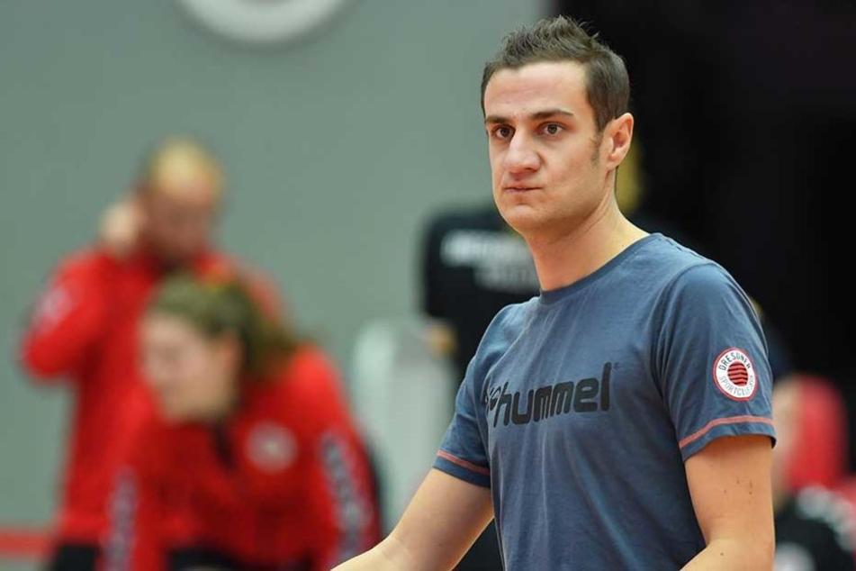"""Andrea Ebana ist der neue """"Co"""" von Alex Waibl. Der DSC-Cheftrainer lobt die """"hohe Fachkompetenz"""" des Italieners, """"auch menschlich passt das sehr gut""""."""