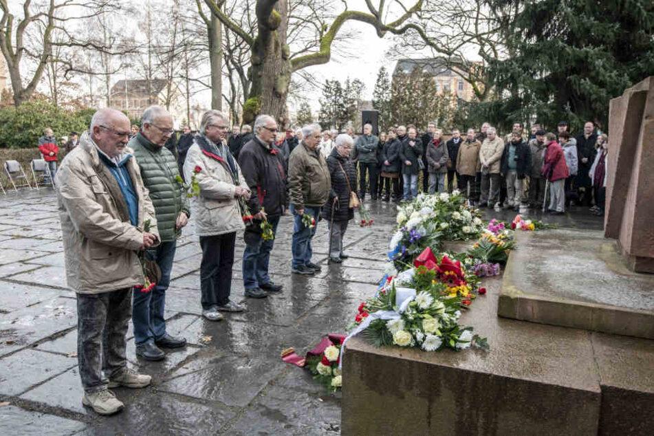 Chemnitz: Jahrestag der Befreiung des KZ Auschwitz: Chemnitz gedenkt der NS-Opfer