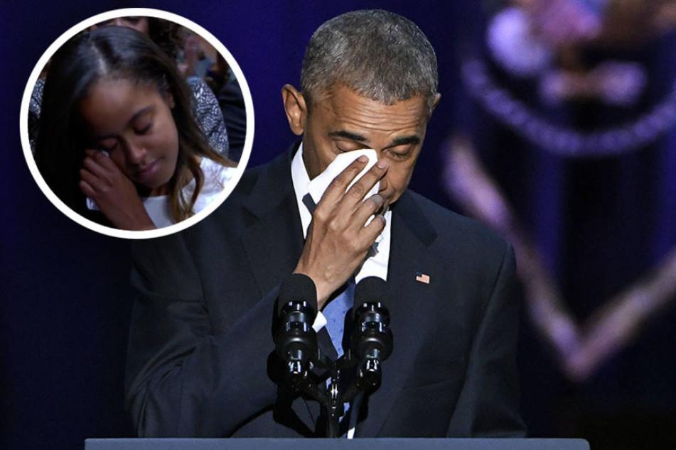 Obamas Worte an seine Tochter rühren alle zu Tränen