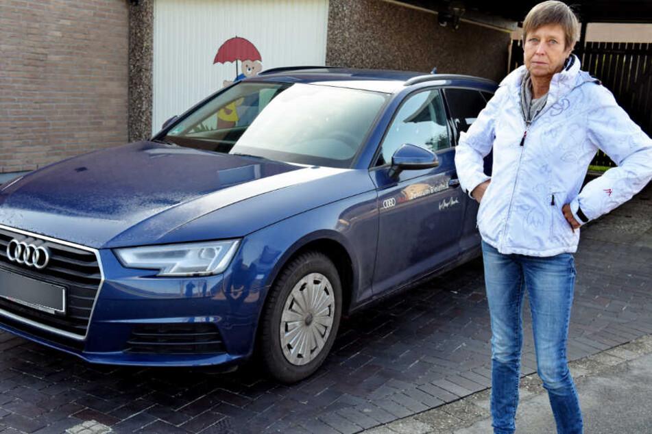 Petra Gronemeier wartet bereits sieben Monate auf ihren neuen Audi.