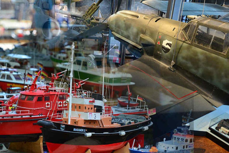 """Auch das Berliner Technikmuseum beteiligte sich am Internationalen Museumstag, unter anderem mit der Ausstellung """"Leinen los""""."""