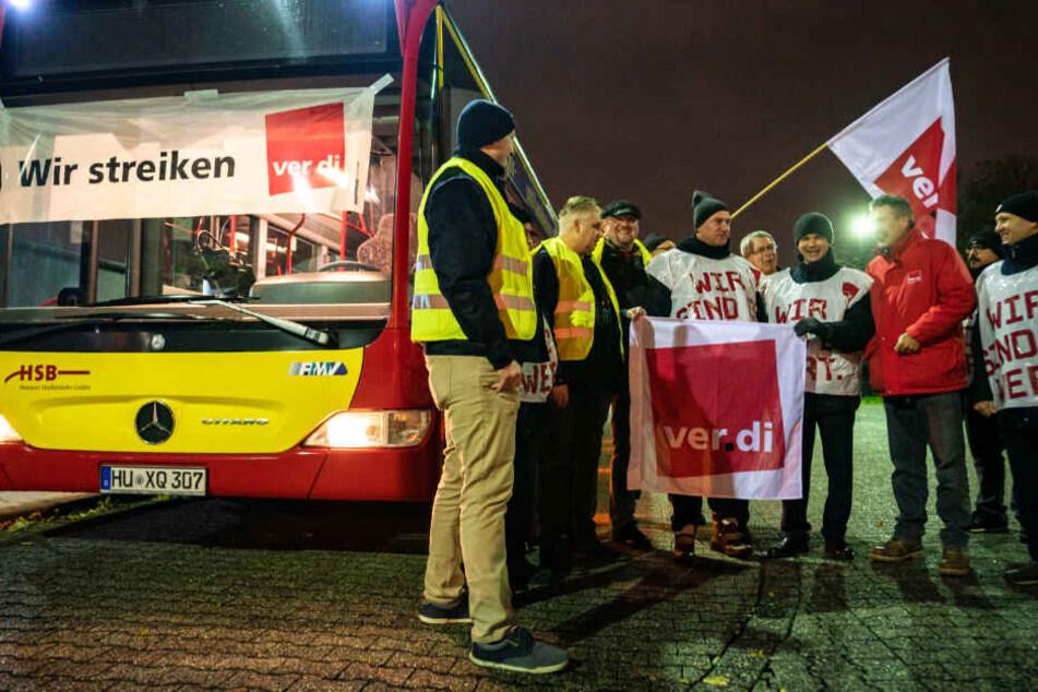 Pendler können aufatmen: Busfahrer-Streik in Frankfurt und Hessen vorerst vorbei