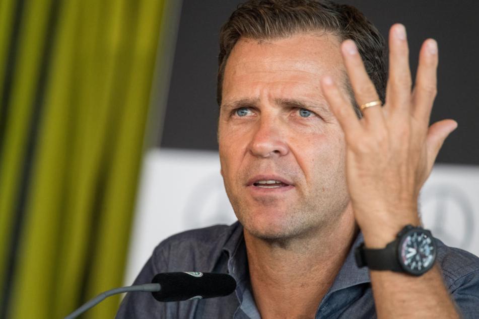 Oliver Bierhoff will sich als neuer DFB-Direktor nicht in höherem Maße für den schwächelnden Ostfußball einsetzen.