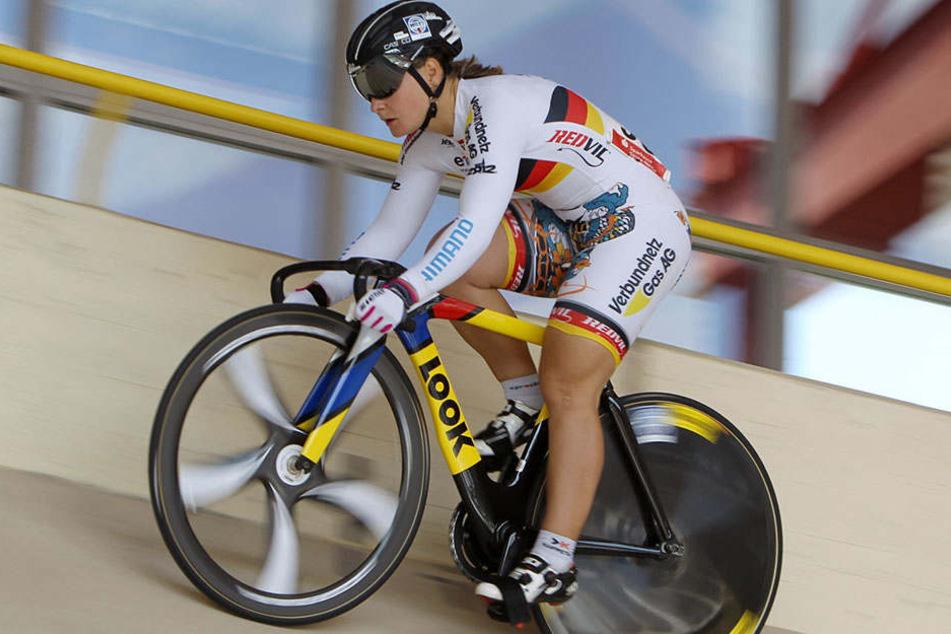 Bislang vertritt nur Kristina Vogel den Frauenbereich im Erdgas 2012-Team.