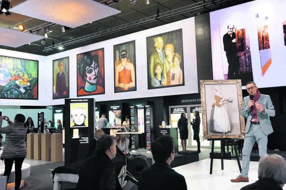 Sachsen stellt seine Kunst zur Schau: Allein auf der ITB können an fünf Messetagen insgesamt 160000 Besucher erreicht werden.