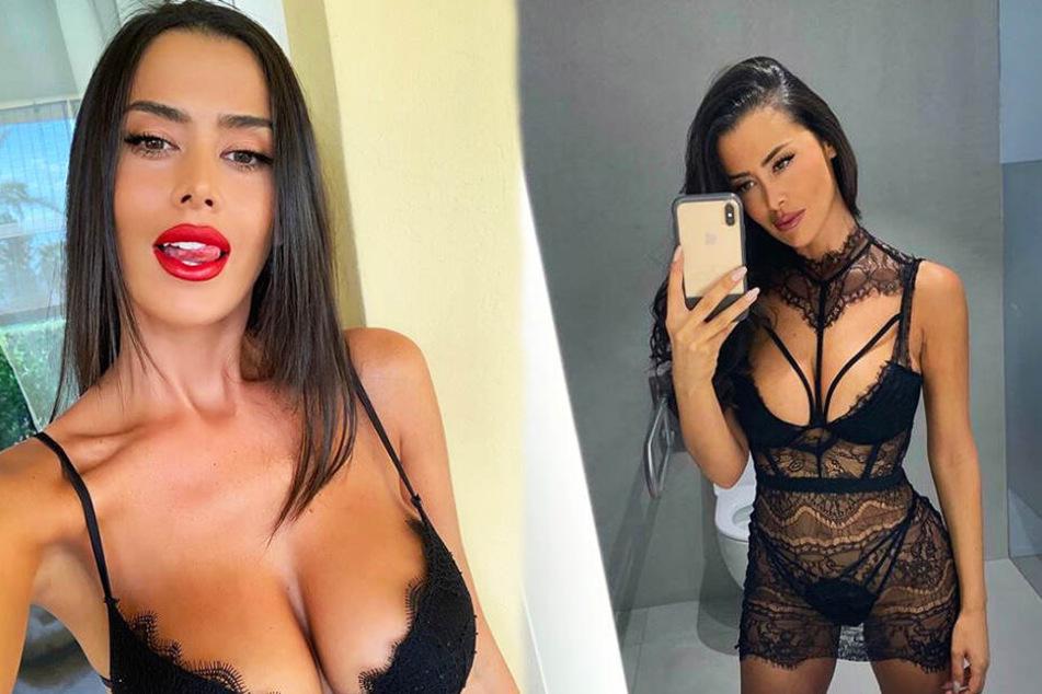 Eva Padlock zeigte sich bei Instagram mal wieder von ihrer erotischen Seite.