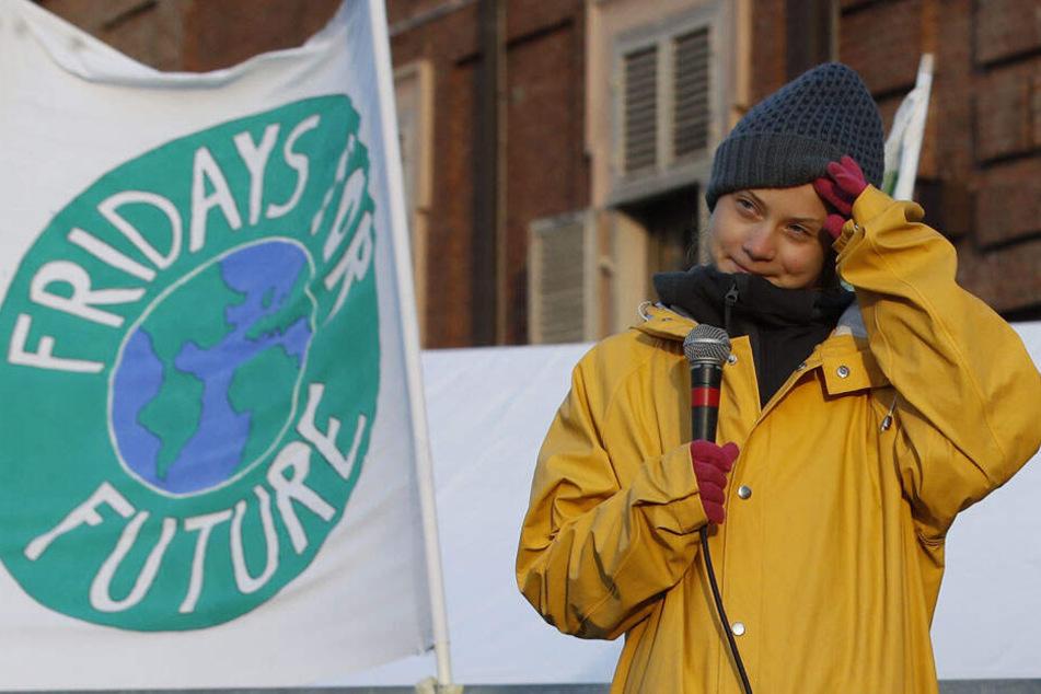 Das Gesicht der FFF-Bewegung: Greta Thunberg.