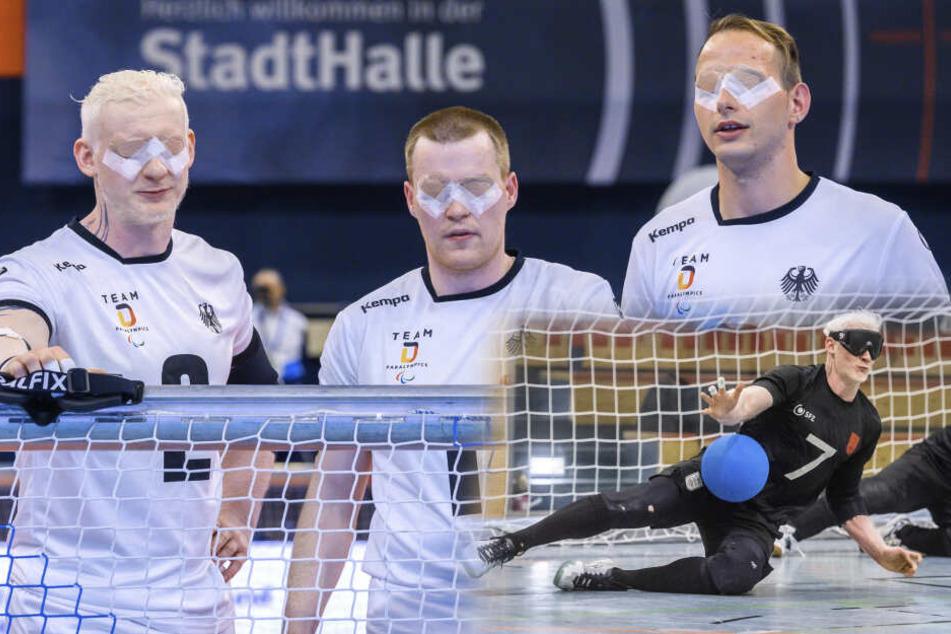 Chemnitzer Sehbehinderte sind Europameister im Goalball