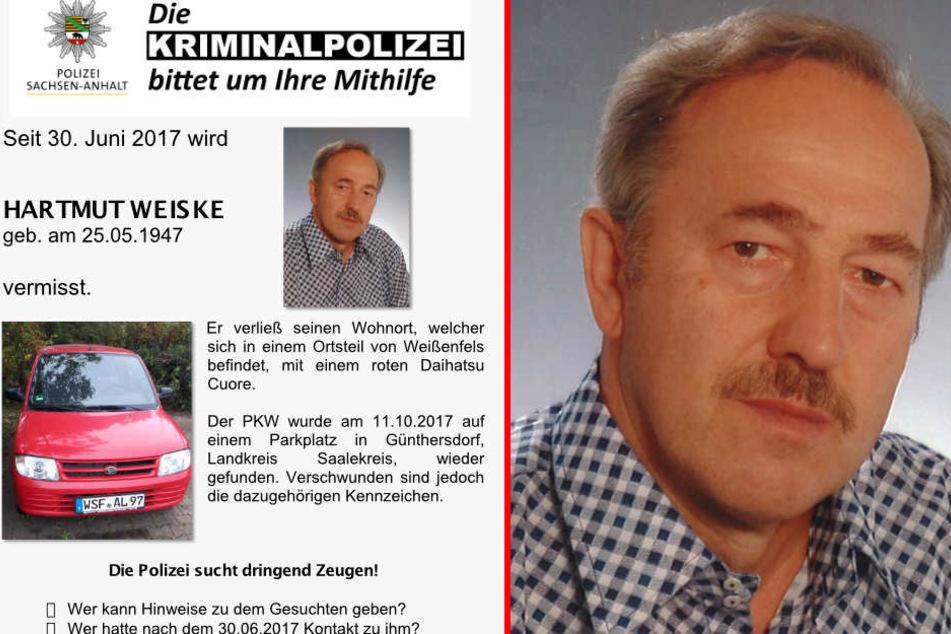 Mysteriöser Vermisstenfall: Wird Hartmut (71) jemals gefunden?