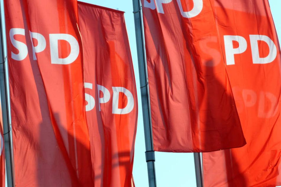 Die SPD muss bei den Landtagswahlen in Brandenburg und Sachsen mit schweren Verlusten rechnen (Symbolbild).