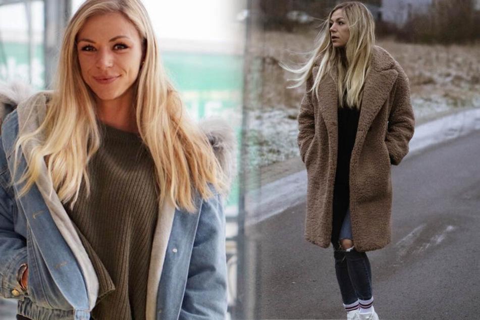 Die Fotomontage zeigt, dass sich Larissa in ihrem Instagram-Feed aber auch gerne mal stylisch und vollbekleidet zeigt.