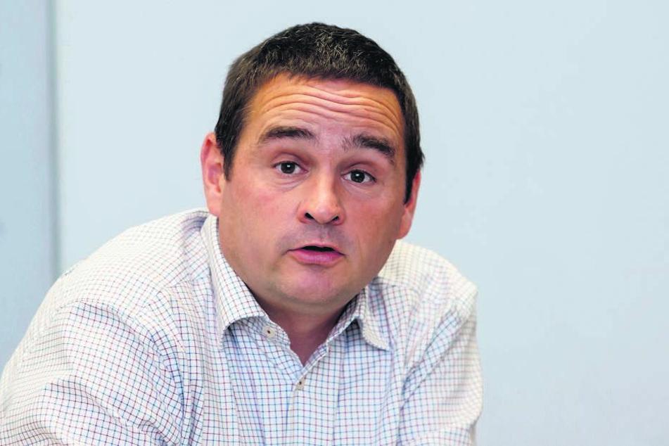 Thomas Kügler (47), Leiter der Abteilung Abfallwirtschaft.