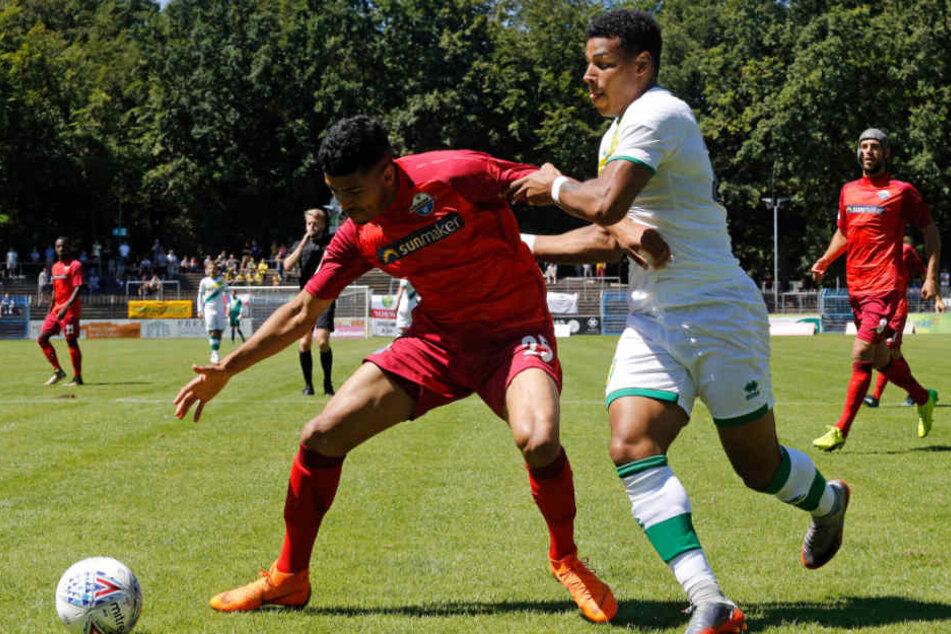 Der SC Paderborn holte gegen den englischen Zweitligisten Norwich City einen Sieg.