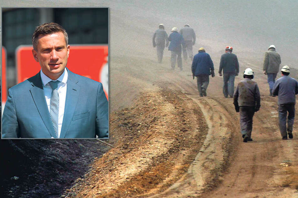 Martin Dulig (43, SPD) - Wie viele Menschen arbeiten wirklich in der sächsischen Braunkohle? Die neue Studie wirft  bisherigen Veröffentlichungen Ungenauigkeit und Übertreibung vor.