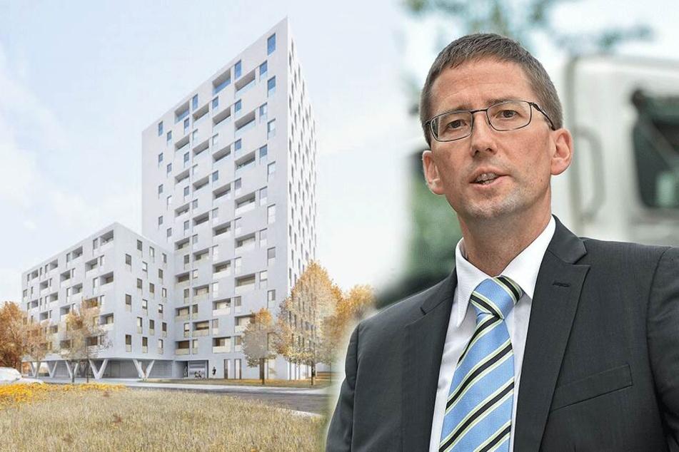 350.000 Euro in den Sand gesetzt: Doch kein Hochhaus in der Johannstadt!