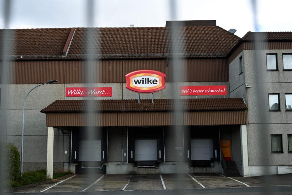 Die Tore am Firmensitz bleiben geschlossen.