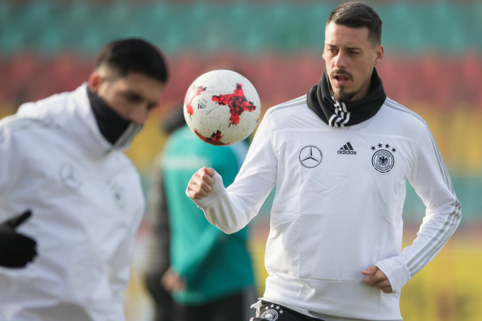Sandro Wagner wird bei der WM in Russland nicht dabei sein.