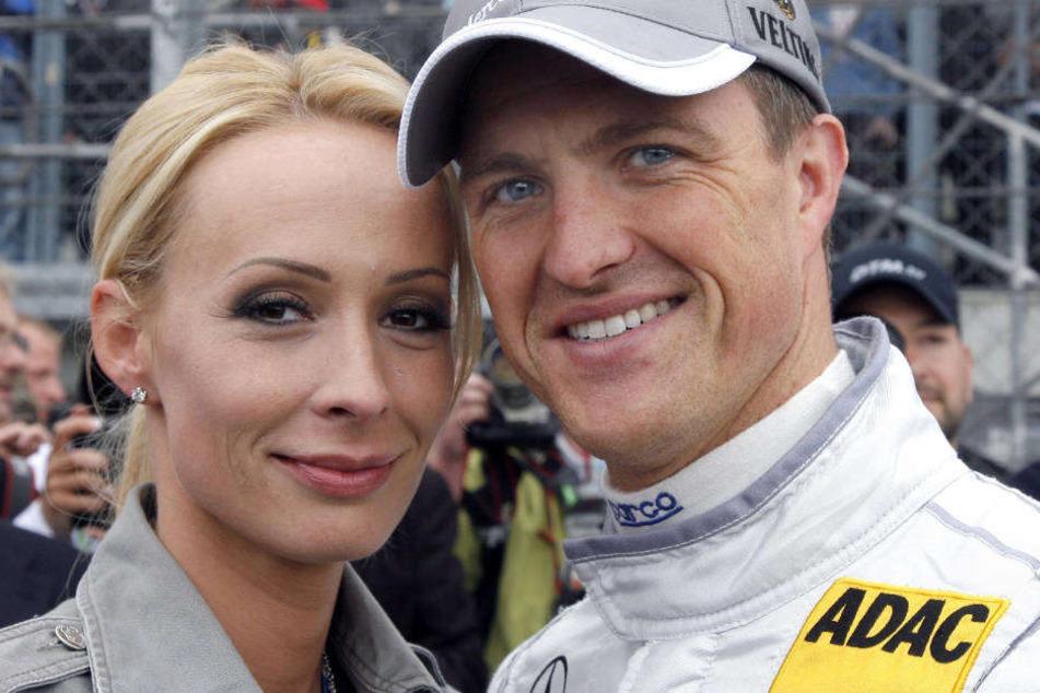Ein Bild aus glücklichen Tagen: 2009 trennten sich Cora und Ralf Schumacher nach rund acht Jahren Ehe.