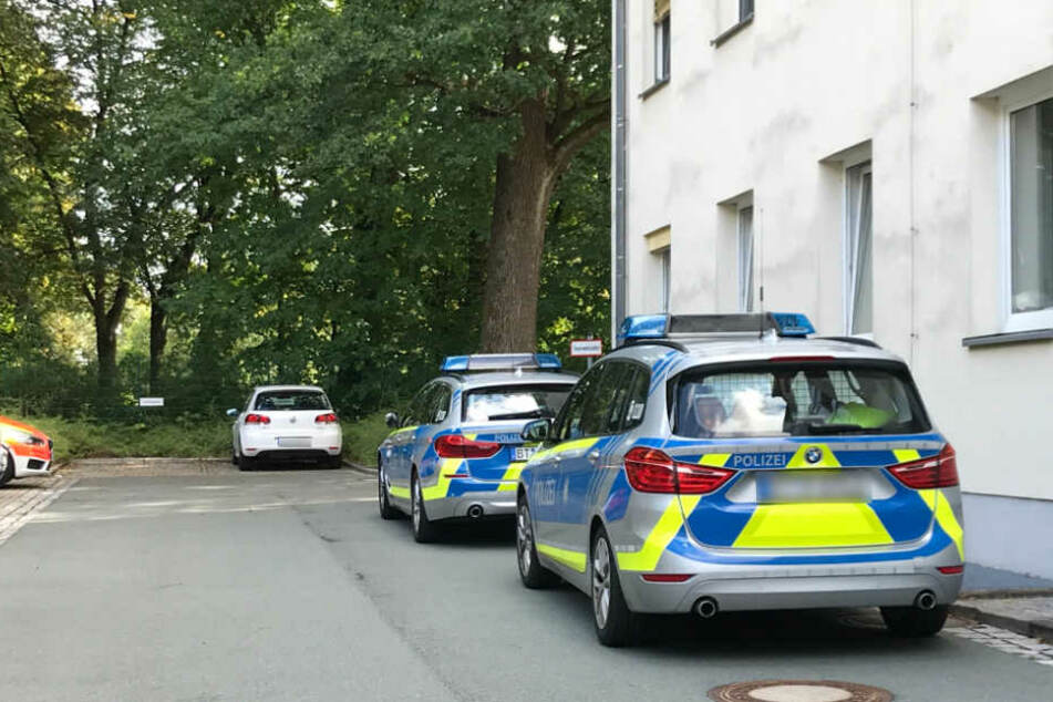 In Münchberg kam es zu einem größeren Polizeieinsatz.