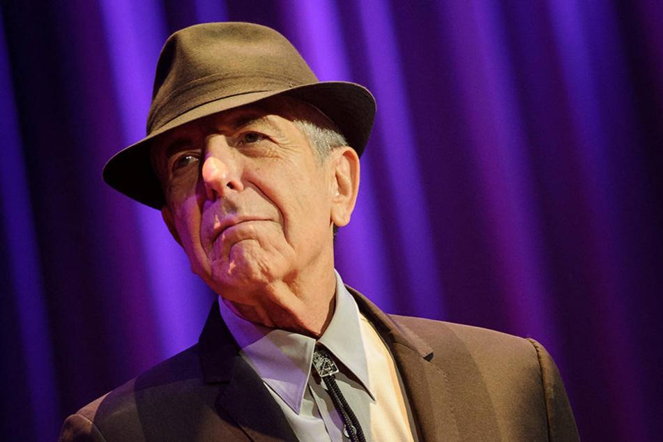 Musiklegende Leonard Cohen ist im Alter von 82 Jahren verstorben.