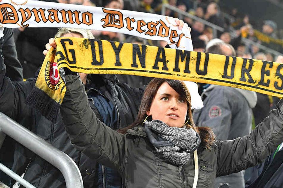 Die Dynamos auf den Tribünen werden heute gutbeschalt hinter ihrer Mannschaft stehen.