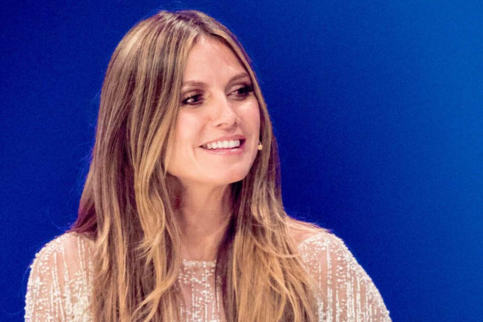 """Heidi Klum (45) sucht derzeit wieder """"Germany's next Topmodel""""."""