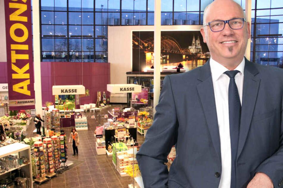 Geschäftsleiter Reiner Wirtz freut sich schon auf Euren Besuch!