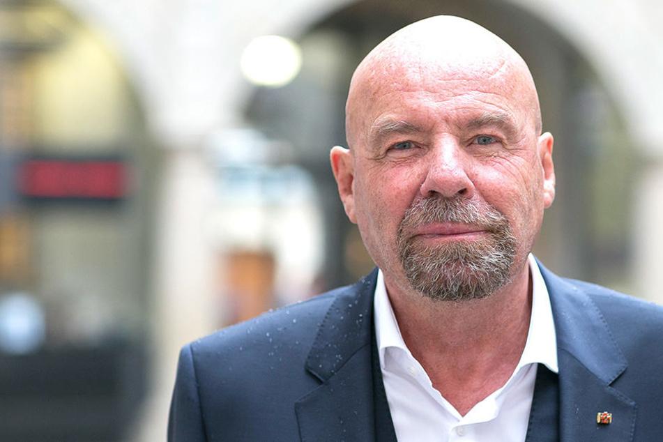Ex-Innenminister Eggert als Talkmaster