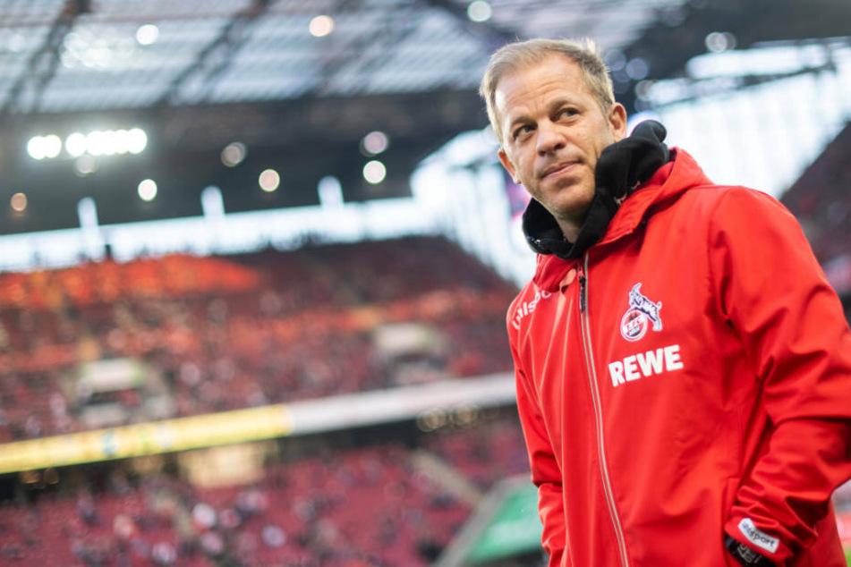 Markus Anfang ist ab sofort nicht mehr Trainer des 1. FC Köln.
