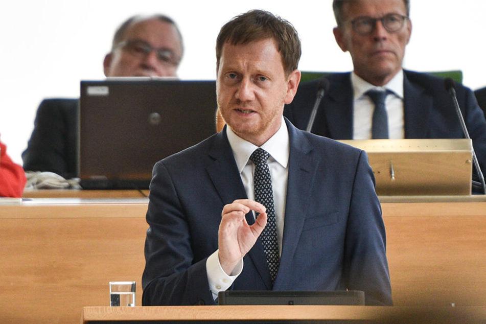 Ministerpräsident Michael Kretschmer (44, CDU) steht so unter Druck wie noch kein anderer CDU-Spitzenkandidat in Sachsen.