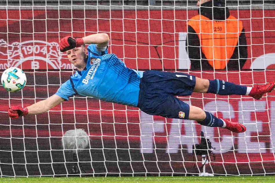 Bernd Leno stand bislang für Bayer 04 Leverkusen im Kasten.