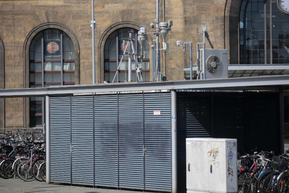 Am Neustädter Bahnhof wurde am Samstag der Grenzwert für Feinstaub überschritten.