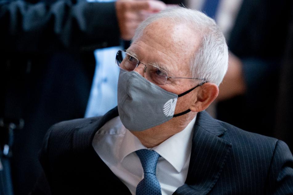 Bundestagspräsident Wolfgang Schäuble (78).