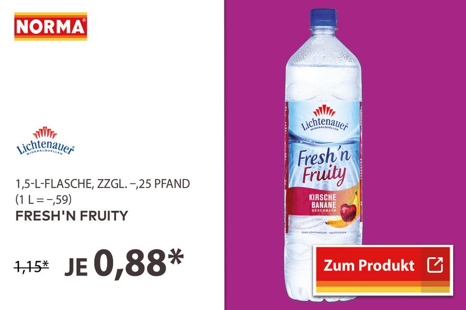Fresh'n Fruity für 0,88 Euro