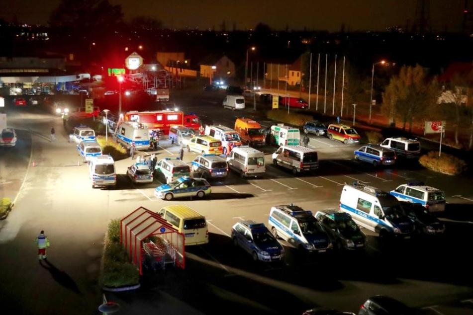 Großeinsatz für Dutzende Rettungskräfte.