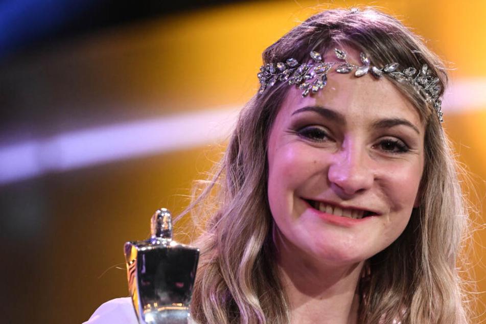 Acht Monate nach Unfall: Kristina Vogel hilft wieder bei Medaillen-Jagd mit