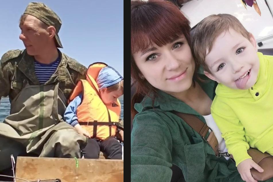 Mutter Christina und Vater Andrey kamen bei dem Bootsunfall ums Leben.