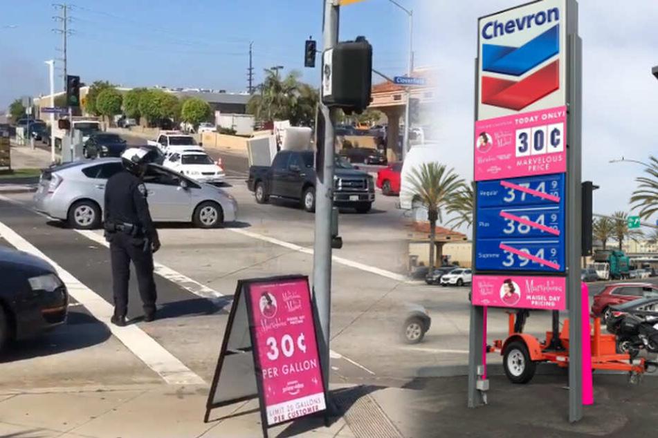 Benzinpreise wie vor 60 Jahren! Amazon-Werbeaktion löst Verkehrschaos aus